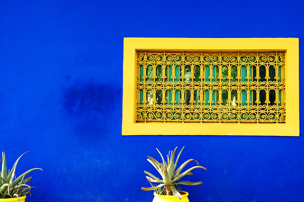 REMEMBERING MARJORELLE GARDEN IN MARRAKECH