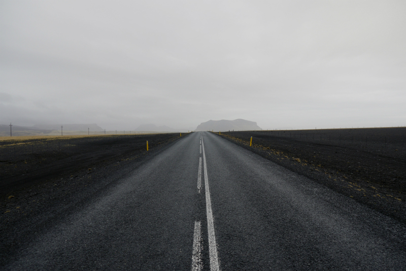 The Road to Hell: A drive past Mount Hekla