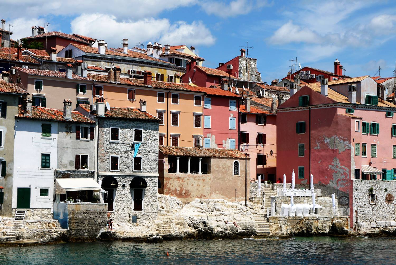 Rovinj waterside