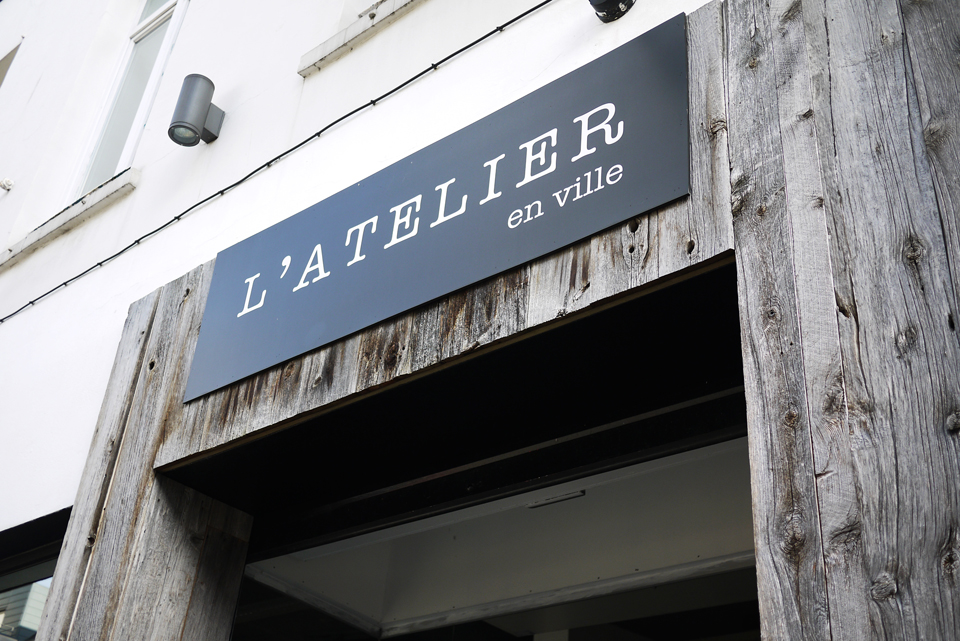 L'ATELIER EN VILLE – BOUTIQUE BRUNCHING IN BRUSSELS