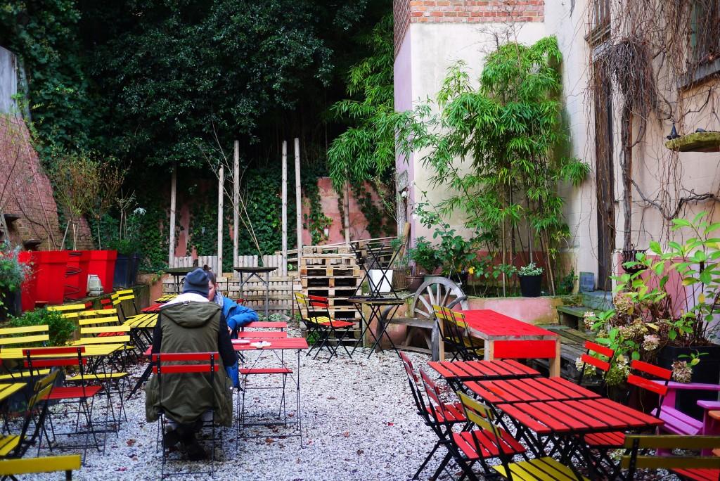 L'Atelier en Ville Courtyard