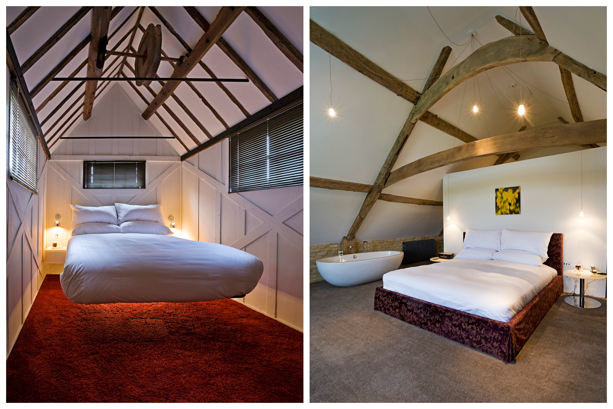 Oundle Mill bedrooms