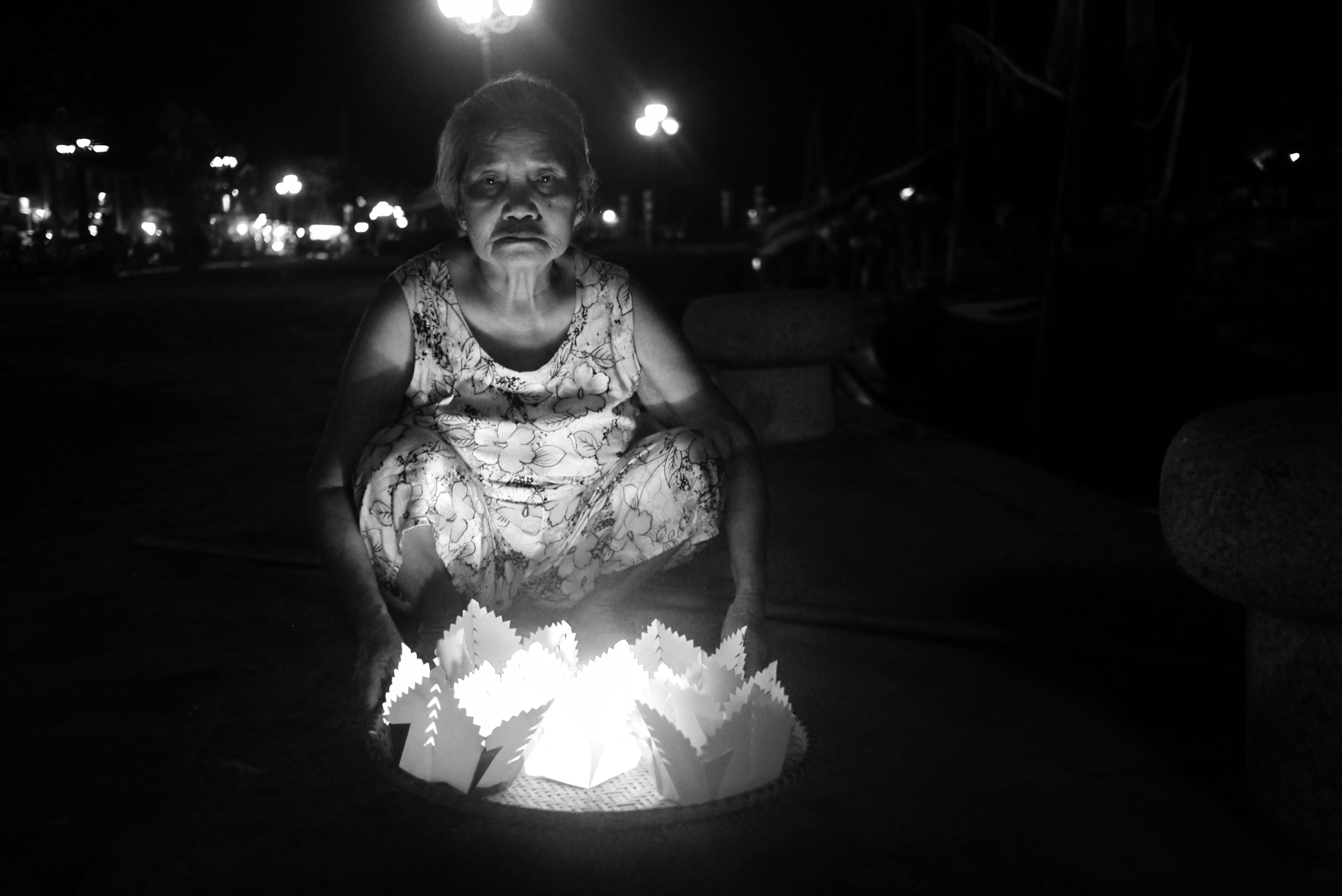 Hoi An Lantern Lady
