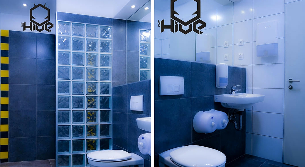 The Hive, Budapest - Bathroom