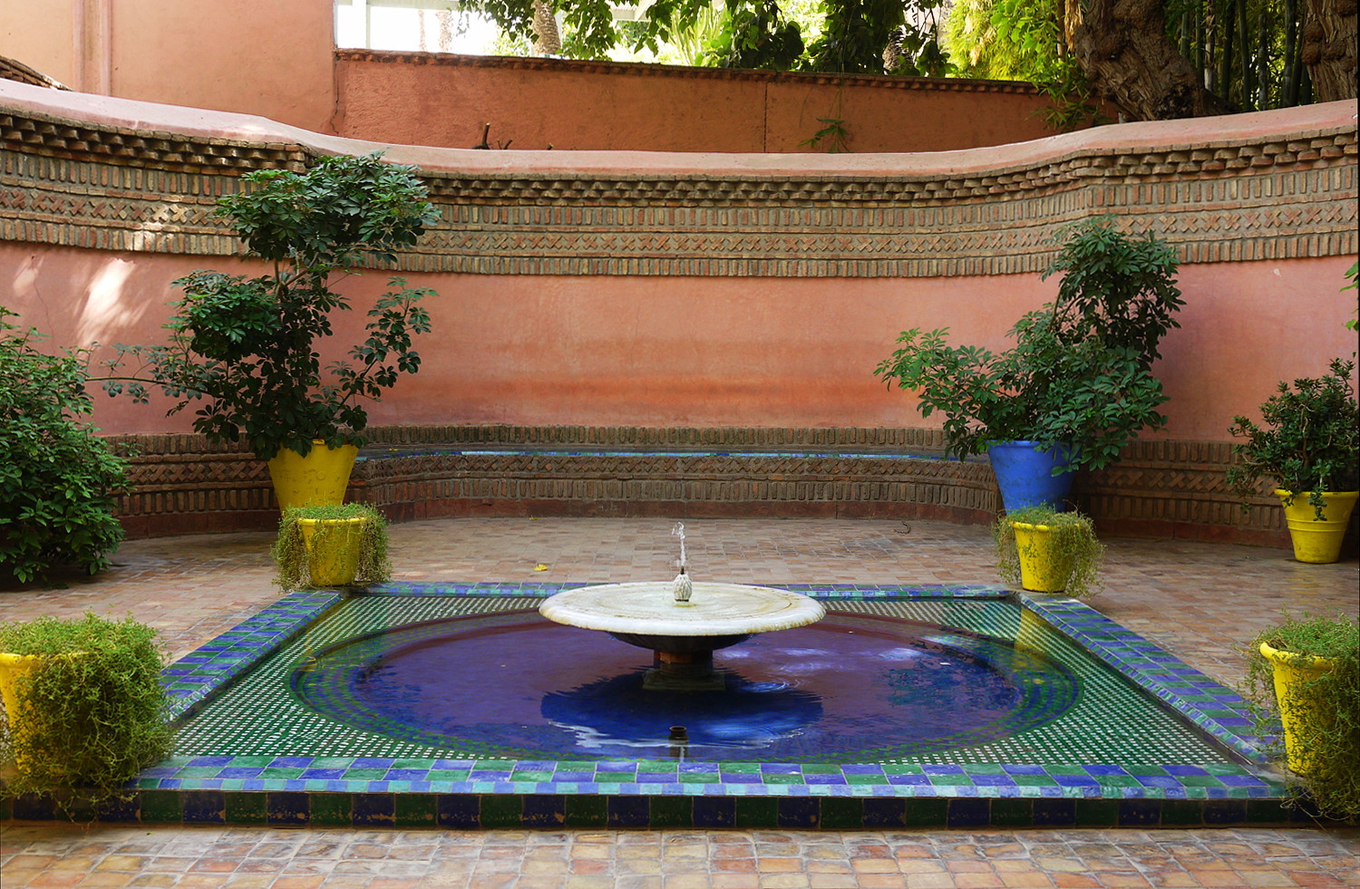 Marjorelle Entrance Fountain
